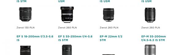 Planujesz zakup sprzętu marki Canon? Cashback do 860 zł i 100 GB w Irista już czekają!